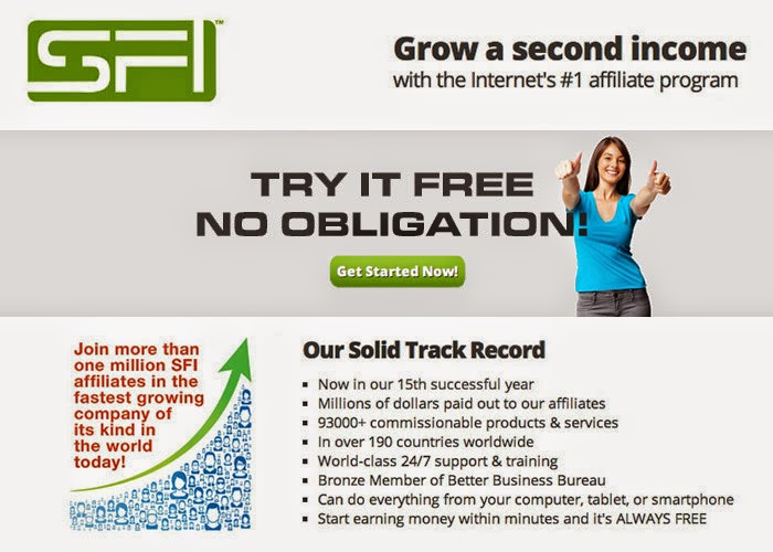 GROW A SECOND INCOME-TRY IT FREE! NO OBLIGATION