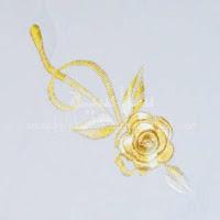 Telekung Vietnam krim bunga timbul