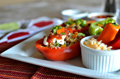 Stuffed Pepper #Recipe #KraftFreshTake