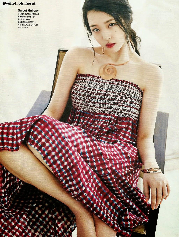f(x) Sulli Cosmopolitan June 2015