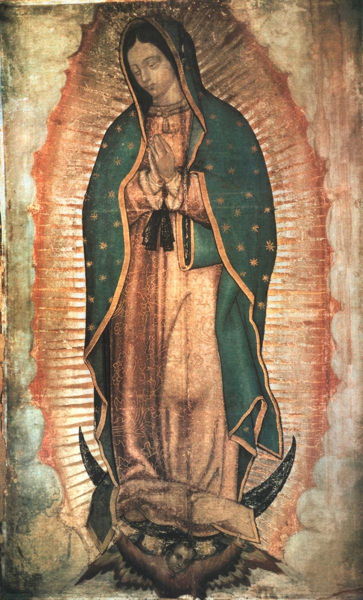 El milagro de los ojos de la Virgen de Guadalupe