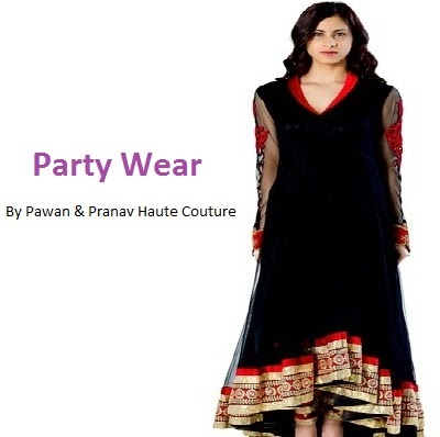 Pawan & Pranav Haute Couture Party Wear Dresses