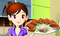 Sara Aşçılık Sınıfı  Köfte Yapma Oyunu
