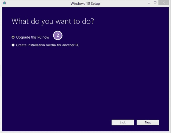Cara upgrade Windows 10 1