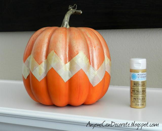 Anyone Can Decorate Fun Fall Pumpkin Easy Diy Painting