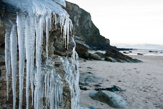Watergate Bay Cornwall in the Winter