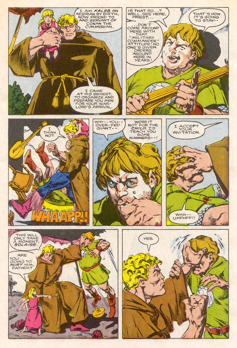 Conan the Barbarian (1970) Issue #193 #205 - English 10