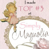 I made Top 3 at Simply Magnolia