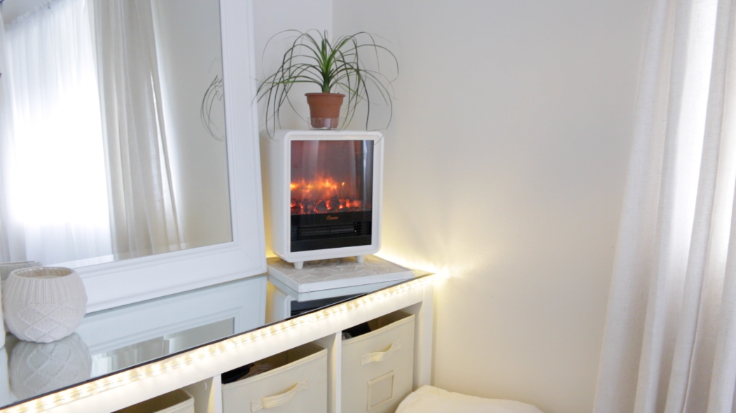 Crane Mini Fireplace Heater