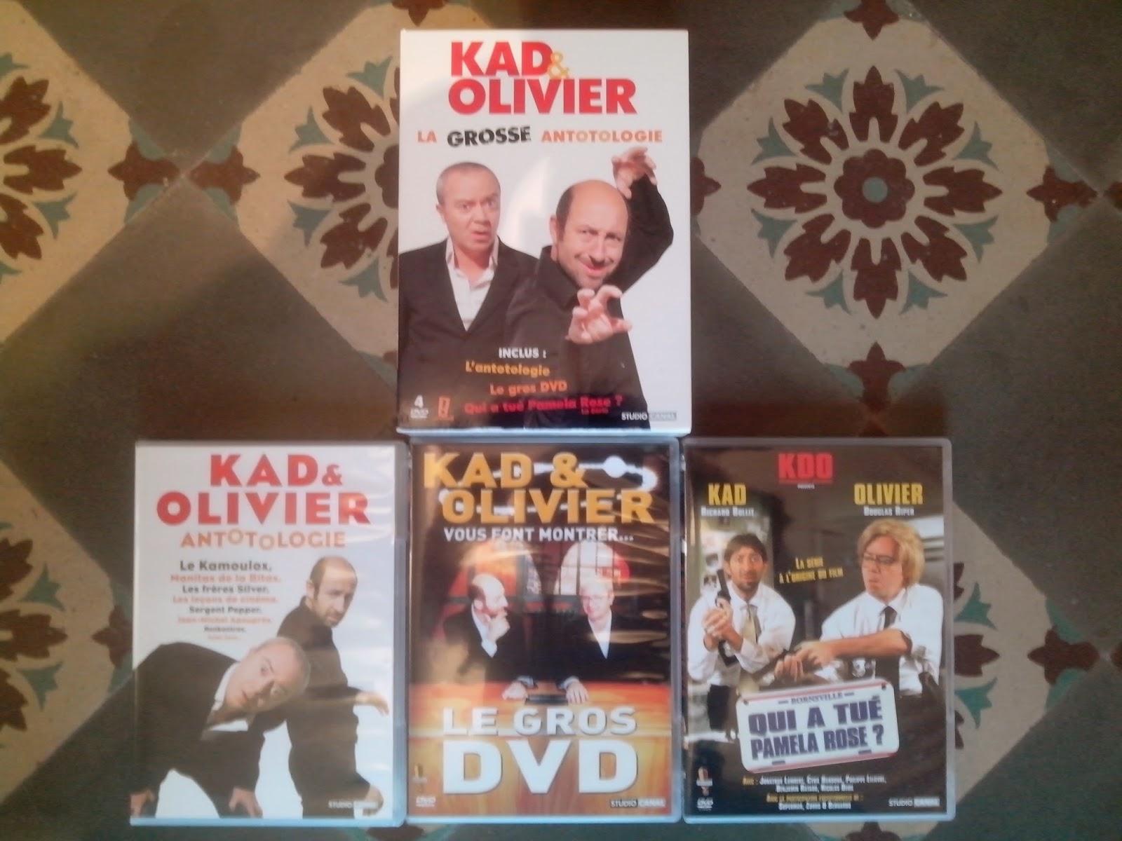 Divers DVD a vendre Kad%26O