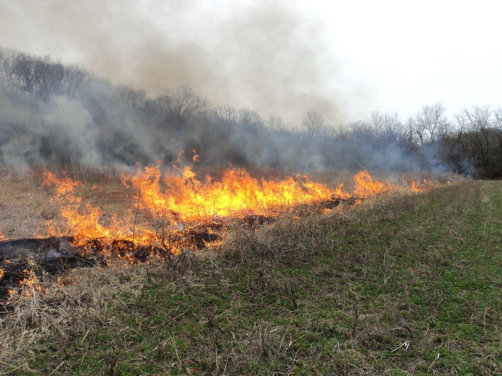 Heartland Outdoors Lake Doctor Burning More Prairie