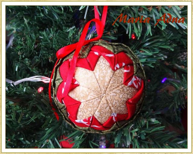 Decoração para árvore de natal, Bola de Natal, Decoração natalina, Decoração de natal, Maria Adna Ateliê