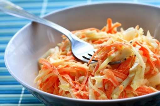 Ensalada de Zanahorias y Manzanas