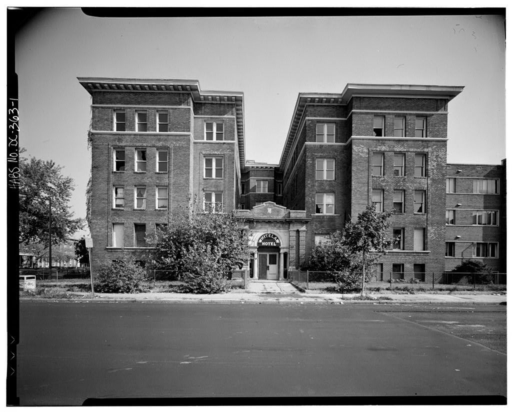 History Of The Whitelaw Hotel Apartments At 13th And T Streets Nw