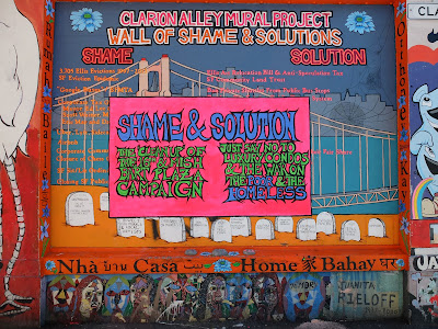 Clarion Alley Mural Project Wall of Shame & Solutions
