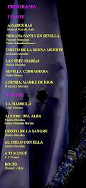 XXIX CONCIERTO DE MARCHAS PROCESIONALES - PROGRAMA