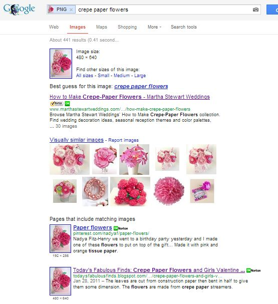 how to find visually similar images