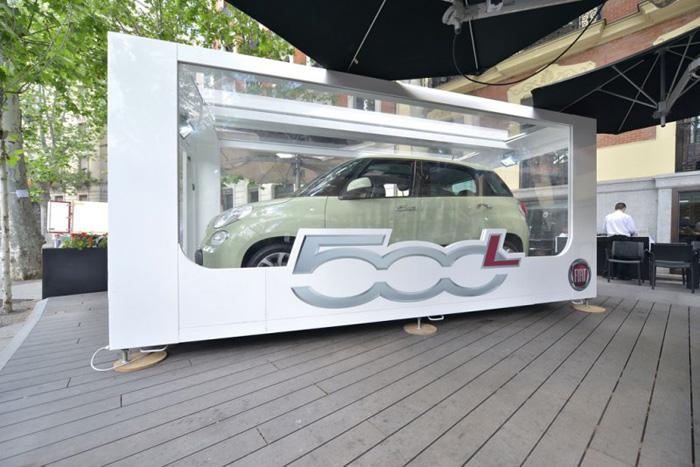 Fiat expone el nuevo 500L Trekking en la Moraleja