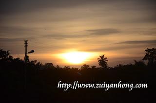 Kuala Lipis sunset