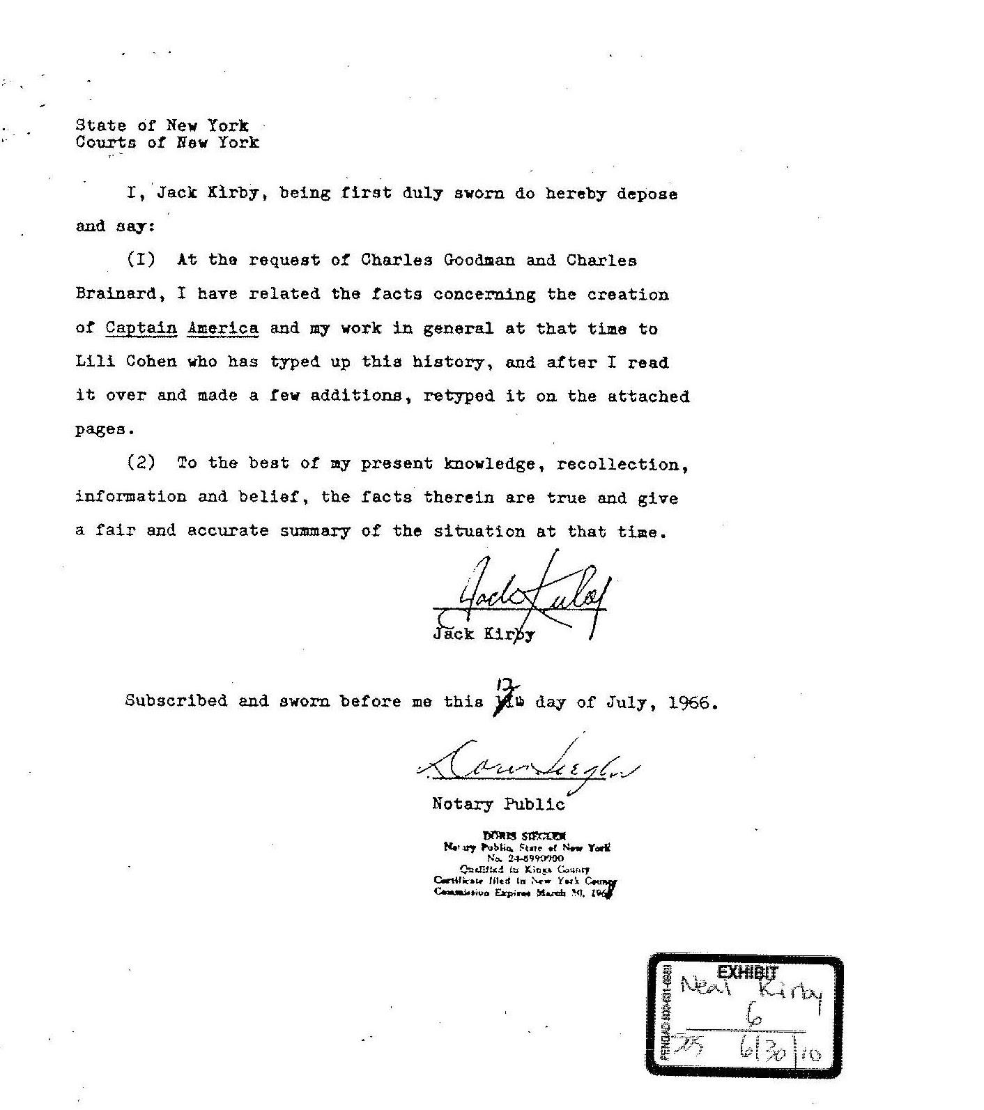 Doc580550 Sample of Sworn Statement Sample Sworn Statement 9 – Example of Sworn Statement