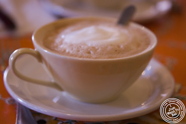 Image of Hot chocolate with machica at Zafra's in Hoboken, NJ