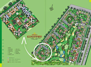 Amrapali Kings Wood :: Site Plan
