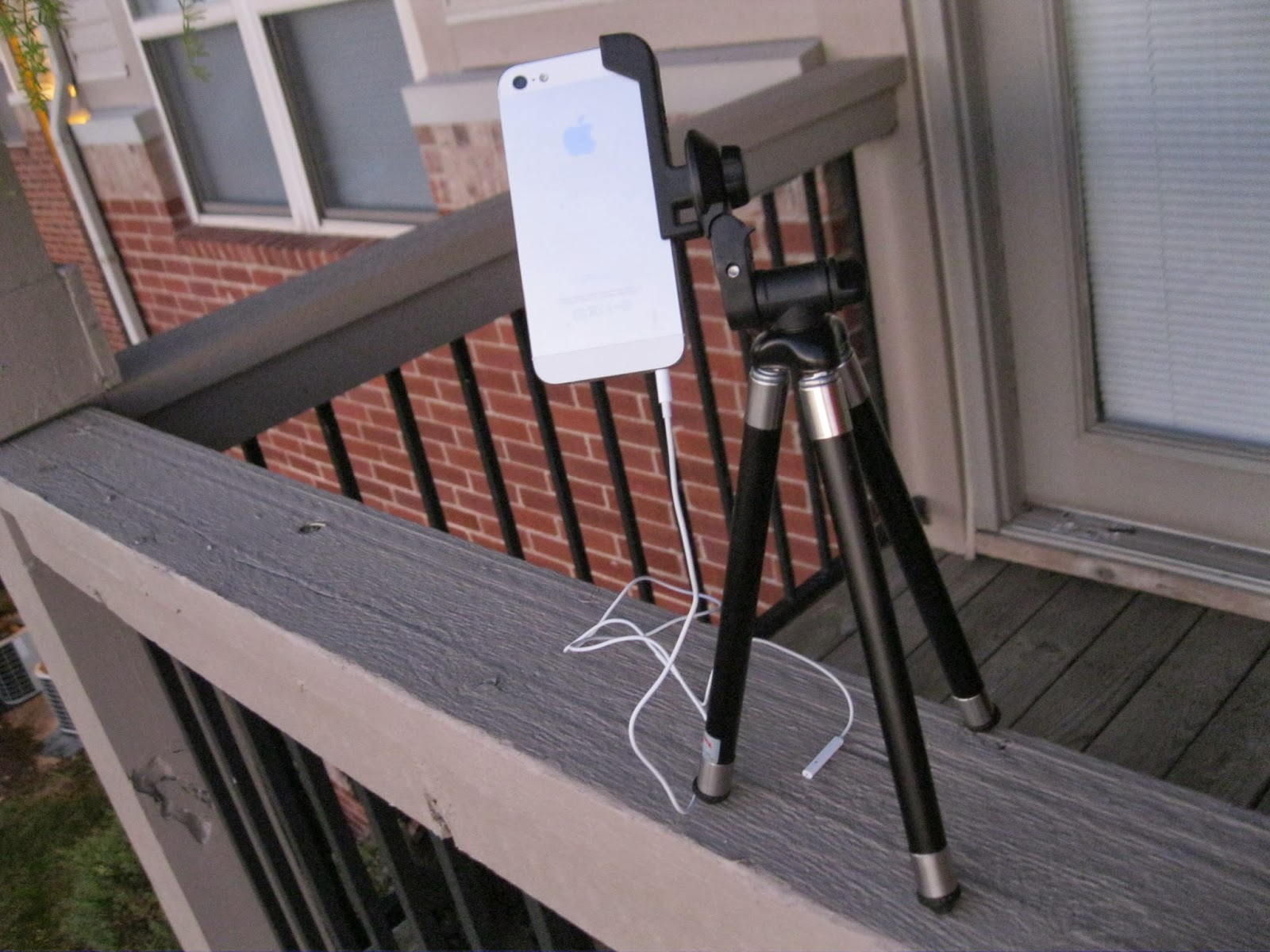 iphone tripod for meteor photos