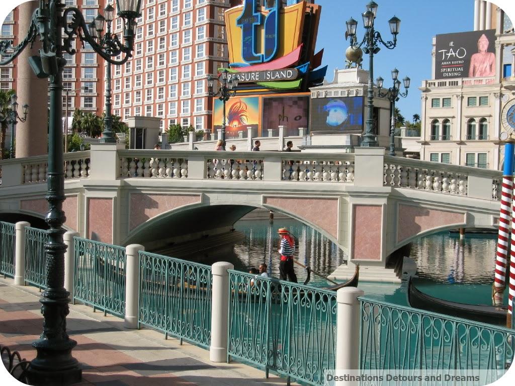 Las Vegas Strip in front of The Venetian
