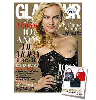 Glamour Te Regala Con Su Revista De Noviembre 2012 Un Jelly Bags