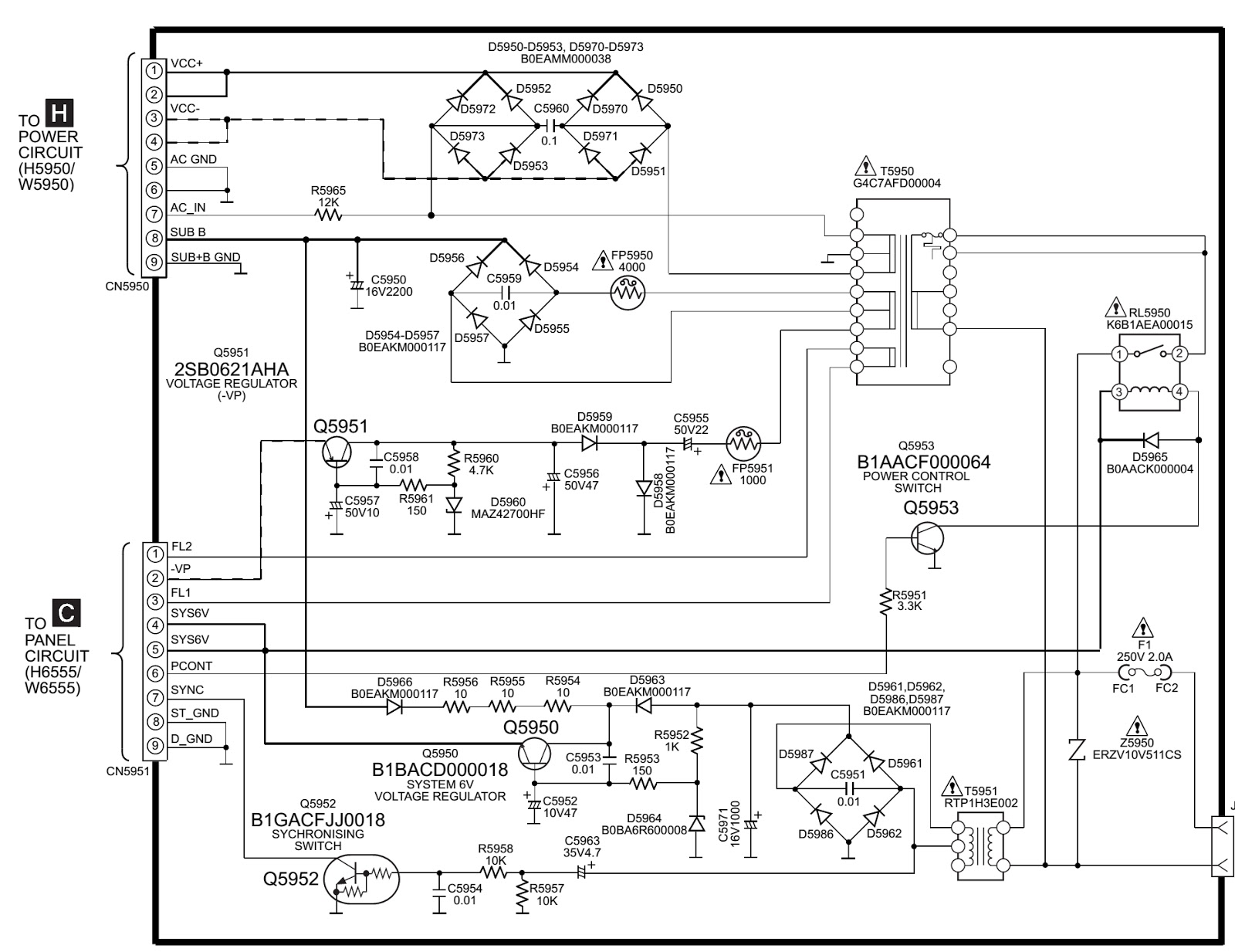 Panasonic Schematic Diagram Circuit Wiring Library