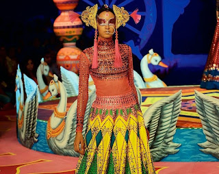 Indian Modern Bride Trends for Summer 2015 | Avant Garde Wedding Manish Arora's collection