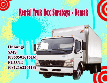 Rental Truk Box Surabaya - Demak
