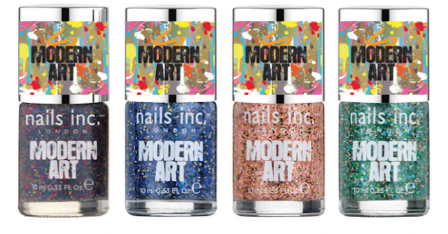 Nails Inc Modern Art Polishes