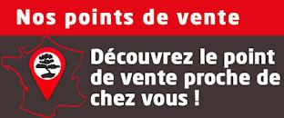 Où trouver Esprit Bonsaï en France ?