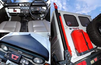 Modified Daihatsu Taft F50 1984