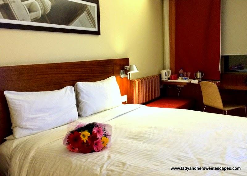 our private nook in New Delhi