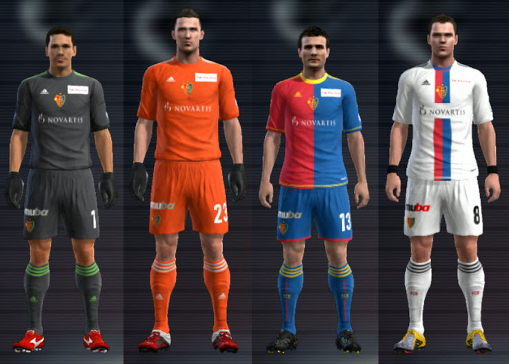 PES 2012 Basel 12 13 Kit Set by Cuky