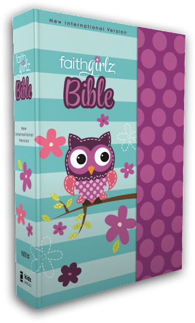 NIV FaithGirlz Bible with features by Nancy Rue