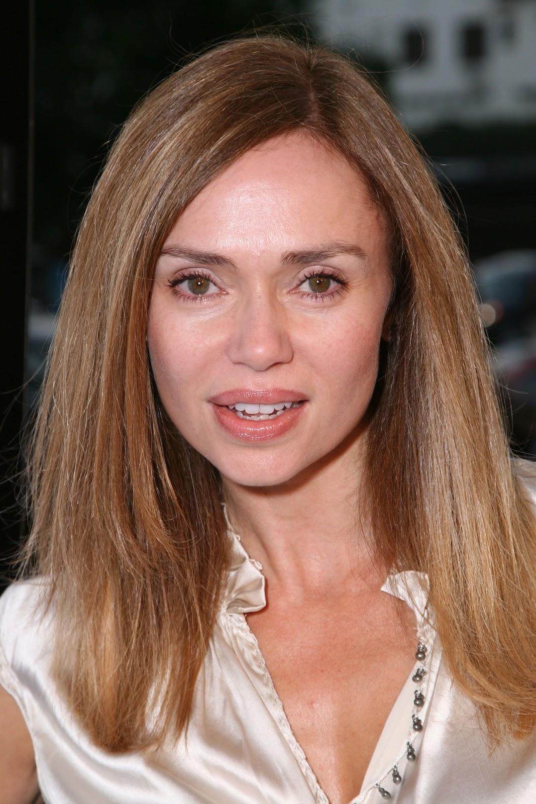 Vanessa Angel - cream satin blouse