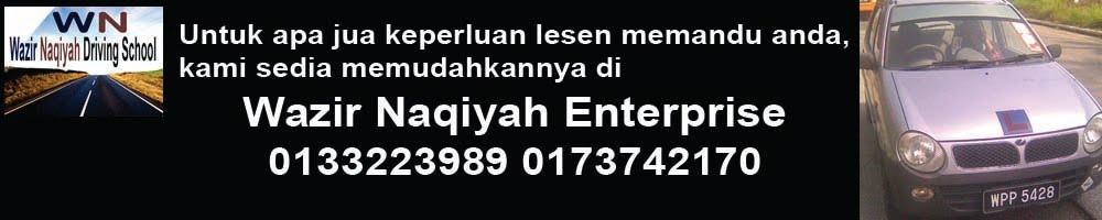 Wazir & Naqiyah Enterprise (SA00023172-T)