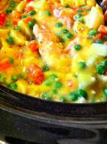 Crock Pot Chicken Pot Pie Filling