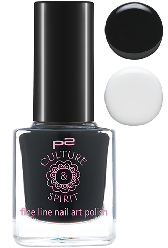 p2 Limited Edition: Culture & Spirit - fine line nail polish - www.annitschkasblog.de