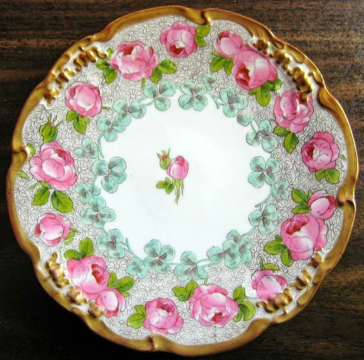 French Limoges Plate