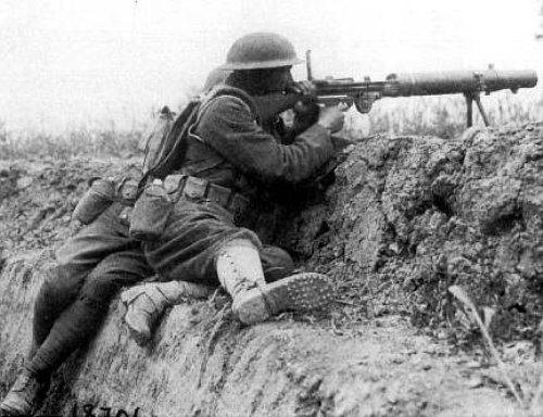 Lewis gun - пулемёт «гремучая змея»