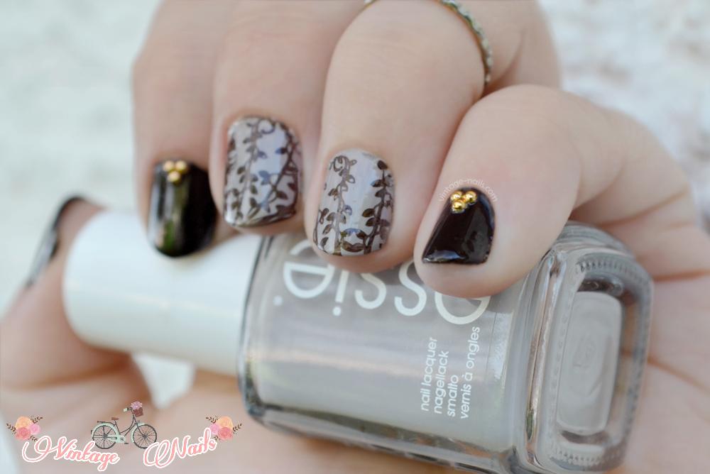 nail art, manicura, Essie, MoYou