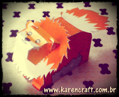 Pomeranian Paper toy