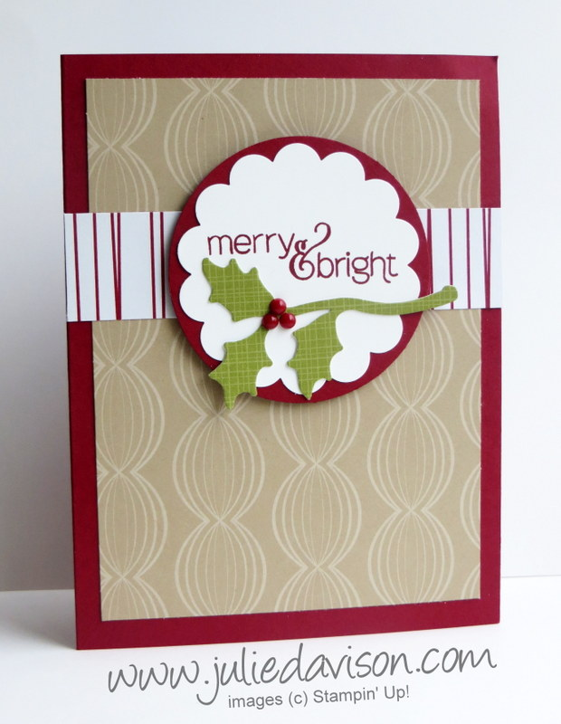 Julies stamping spot stampin up project ideas by julie davison november 2015 paper pumpkin alternative ideas mistletoe holly cards fry box for christmas m4hsunfo
