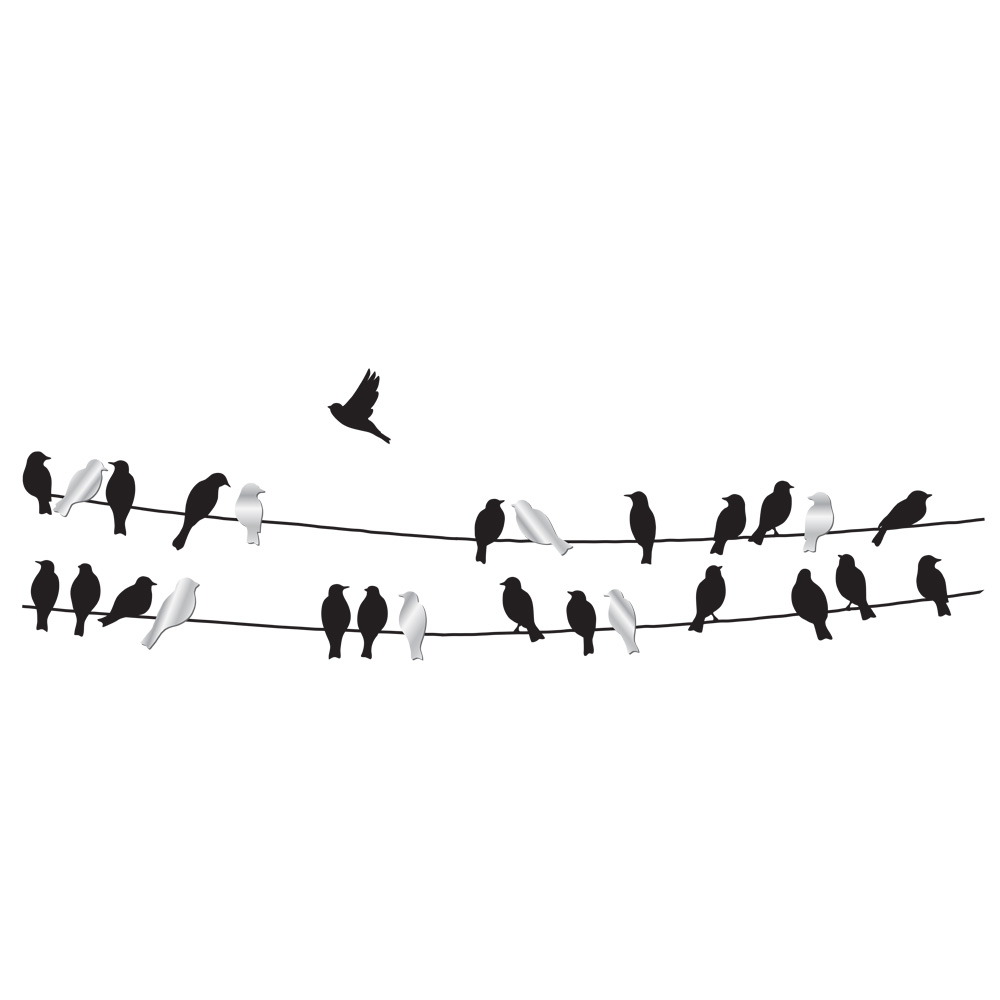 Bird on a wire template - photo#6