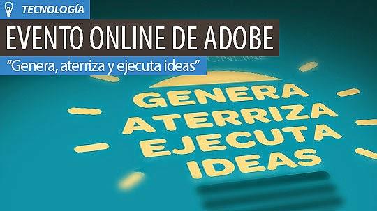 Mañana: Evento Online de Adobe para Creativos