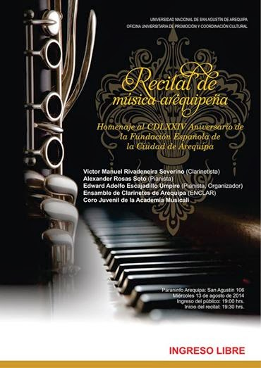 Recital de Música Arequipeña